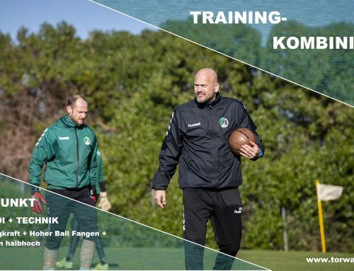 TRAINING-KOMBINIERT KONDI + TECHNIK Sprungkraft + Fangen