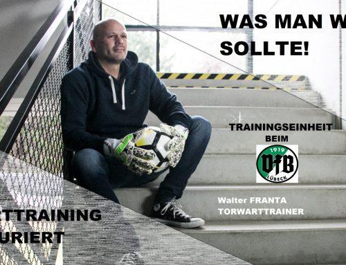 TORWART-TRAINING beim VfB Lübeck