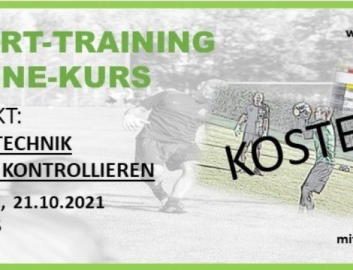 KOSTENLOSER TORWART-TRAINING ONLINE-KURS
